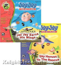 Jay Jay Jet Plane SKY HEROES & EARNS WINGS PC Mac 2xPak
