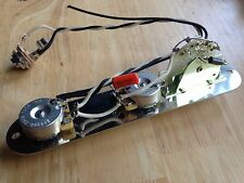Reverse Telecaster Wiring Harness For Fender CTS Pots CRL Switch Orange Drop Cap