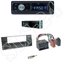 Caliber RMD021 Autoradio + BMW 5er (E39) /X5 Blende black + ISO Adapter Set