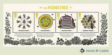 2015 British Bees - Honeybee Stamp Miniature Sheet No.111 - Royal Mail Stamps