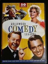 Hollywood Comedy Legends: 50 Movies (DVD, 2011, 12-Disc Set)