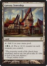Gavony Township - LP - Innistrad MTG Magic Cards Land Rare