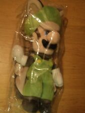 OFFICIAL NINTENDO SUPER MARIO BROS LUIGI FLYING SQUIRREL PLUSH SOFT TOY - SEALED