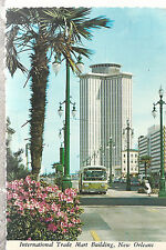 International Trade Mart from Canal Street  New Orleans LA  Chrome Postcard 267b