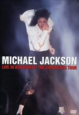 Michael Jackson: Live in Bucharest - The Dangerous T DVD Region 1