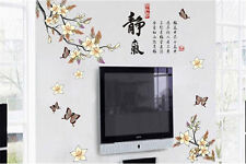 Quietness chinese Home Room Decor Removable Wall Stickers Decal Decoration