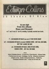 21/10/89Pgn12 Advert: Edwyn Collins '50 Shades Of Blue' His New Single 7x5