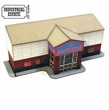 4Ground OO Gauge Green Park Retail Unit Laser Cut Kit # OOIE103