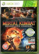 "Mortal kombat komplete 9 game of the year ""new & sealed' * XBOX 360 *"