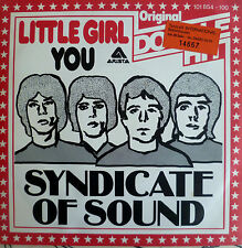 "7"" RARE MINT- ! SYNDICATE OF SOUND : Little Girl + You"