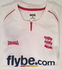 BIRMINGHAM CITY BCFC FLYBE.COM IONSDALE FOOTBALL JERSEY CLUB Size LB