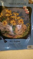 CANDAMAR NEEDLEPOINT KIT HIDING PILLOW New n package Out of production Bunny!