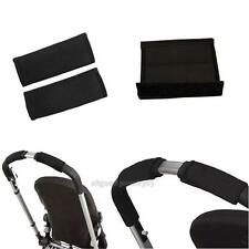2Pcs Baby Pram Stroller Handle Bar EVA Accessories Protective Grip Case Cover