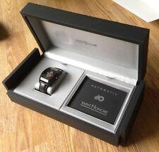 Saint Honore Men's 880092 7NRFO Monceau Automatic Black Exhibition Swiss watch