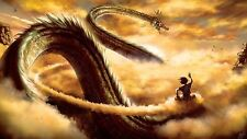 Dragon Ball Z Goku Ride Shenron 2015 Anime Silk Poster 24x43inch
