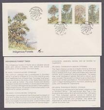 RSA Ciskei # 46 - # 49 , Indigenous Forest Trees FDC - I Combine S/H