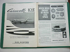 6/1966 PUB SUD AVIATION AVION CARAVELLE 10R AIRLINER UTA AIRLINE ORIGINAL ADVERT