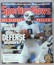 2003 Sporting News Steve McNair Titans NFL PLAYOFF Preview