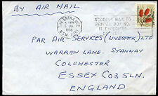 Australie 1976 commercial air mail cover to uk #C37635