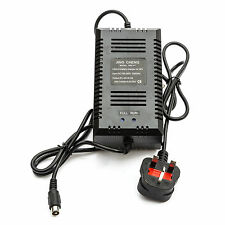 UK 36v Lithium Battery Charger 36v 2amp Electric Bicycle Bike Cycle 7amp - 10amp