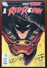 Red Robin #1 (2009 DC) SIGNED 3X Francis Manapul Chris Yost, Marcus To 9.0 VF/NM