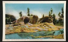 Postcard Grotto Geyser Formation, Yellowstone National Park