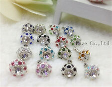 5 X Bling Diamond  Earphone Jack Anti Dust Plug Cap Stopper for phone