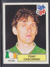 Panini - USA 94 World Cup - # 320 Tony Cascarino - Ireland (Green Back)