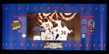 1991 MINNESOTA TWINS SPECIAL EXPORT WORLD CHAMPIONS COMMEMORATIVE POSTER