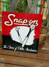Antique Style Snap-on Sign Vintage Look