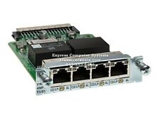 Cisco VWIC3-4MFT-T1/E1 (Refurb) 4-Port 3rd Gen Multiflex Trnk Voice/WAN Int. Car