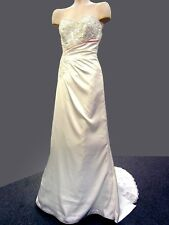 Maggie Sottero Satin & Lace Wedding Dress Bridal Gown