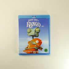 RANGO Blu-ray [Korea Edition, Theatrical Ver. & Extended Ver. 1Disc] Johnny Depp