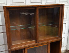 Antique Oak DANNER Stacking Bookcase Section B.