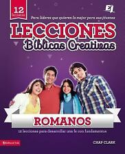 NEW - Lecciones Biblicas Creativas para Jovenes sobre Romanos