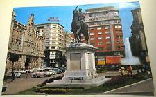 Spain Santander Monumento y plaza del Generalisimo 157 - posted