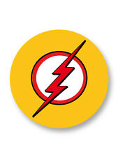 "Pin Button Badge Ø25mm 1"" Kid Flash Young Justice Dc Comics"