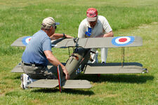 WWI 1/4 Scale  SE 5-A  80 in  Giant Scale RC Model AIrplane Printed Plans