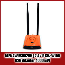 ALFA Networks AWUS052NH | 2.4 / 5 GHz, USB WLAN Adapter, 300 MBit, Ralink RT3572