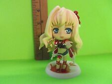 "Macross Frontier Sheryl Nome 4""in Figure Dressed in Short Jean Shorts Singing"
