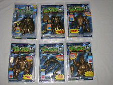 SPAWN- 6 Gold figs-Medieval Spawn, Tremor, Clown, Violator, Spawn,Overtkill MISP
