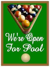 Salas de juegos de deportes Dardos Poker una sala de billar Pub Sign Bar Signo