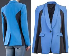 "Rag & Bone sz 6 BUST ~38"" Blue Jefferson Blazer Jacket Coat USA Women Lady NEW"