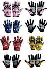 GLX Full Finger Motorcycle Motocross Dirt Bike Off Road ATV Gloves