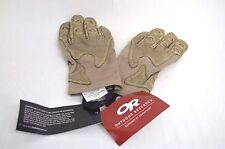 Outdoor Research OVERLORD Short Gloves MSR $160 Small Massif Leather No Melt Tan