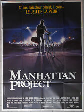 Affiche MANHATTAN PROJECT Marshall Brickman JOHN LITHGOW Collet 120x160cm