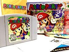 MARIO PARTY 1 Nintendo 64 N64 •COMPLETE in Box CIB•