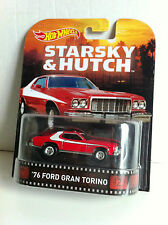 Hot Wheels 2015 Retro Starsky & Hutch '76 Ford Gran Torino Red