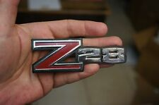 70 - 71 CHROME Camaro Z28 Emblem, ORIGINAL GM PART