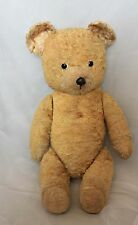 "Antique European Dutch Van Gelden Smiling Teddy bear 21"" cotton plush"